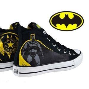 Batman Converse high top canvas sneaker